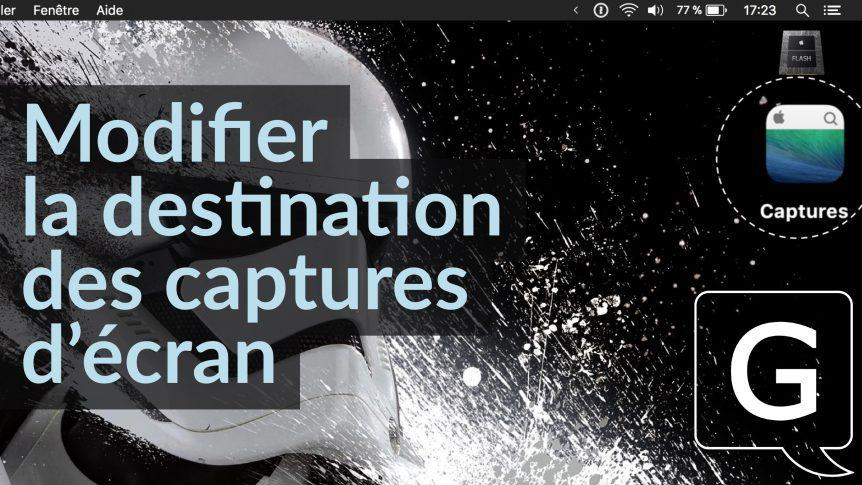Comment Changer La Destination Des Captures Décran Sur Mac