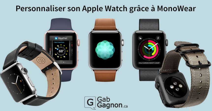 Bracelets Apple Watch MonoWear
