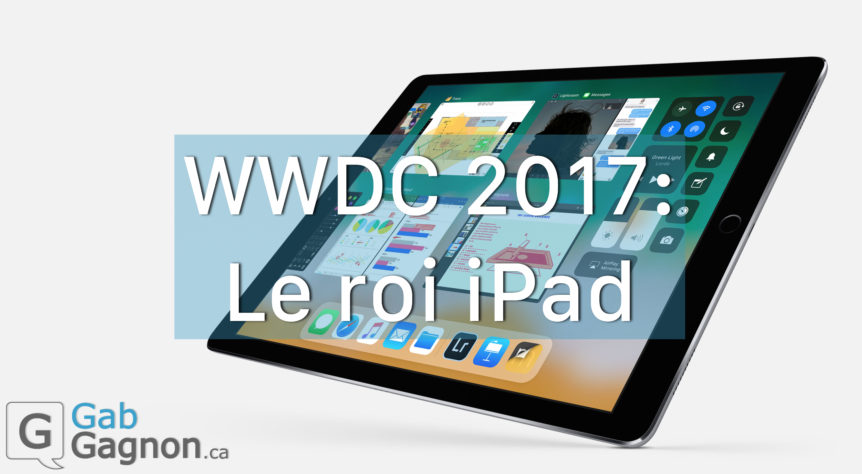 WWDC 2017 APPLE IPAD