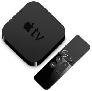 Apple TV 4 Guide cadeaux noël 2017