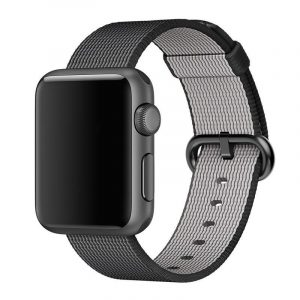 black nylon apple watch band guide cadeaux noel 2017